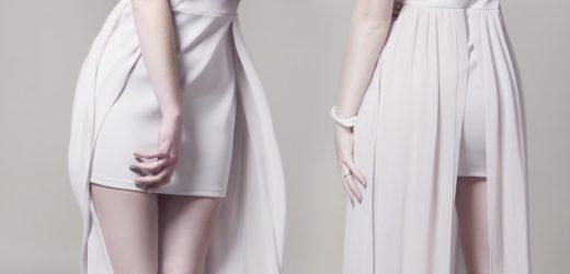 Eleganckie sukienki w uniwersalnych rozmiarach